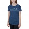 Tentree Geo Mountain Raglan Womens T-Shirt