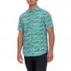 Hurley Waves Short Sleeve Mens Shirt