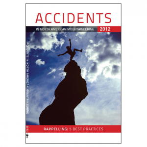 photo: The Mountaineers Books Accidents In North American Mountaineering 2012 climbing book