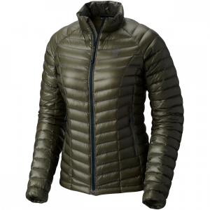 ghost whisperer down jacket - women's- Save 25% Off - The Mountain Hardwear women's Ghost Whisperer Down Jacket is the world's lightest full-featured down jacket, it's the perfect choice when you're hitting a hard objective where grams matter or when you need a lightweight piece of backcountry insurance in your pack. Its Q.Shield DOWN 800-fill insulation resists moisture and retains critical loft even when wet and a low-profile quilt pattern creates heat-trapping down channels for extra warmth. A single toggle hem makes for easy adjustments and the Ghost Whisperer stows in its own pocket.