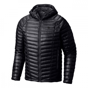 ghost whisperer hooded down jacket - men's- Save 31% Off - The Mountain Hardwear men's Ghost Whisperer Hooded Down Jacket is the world's lightest full-featured hooded down jacket, it's the perfect choice when you're hitting a hard objective where grams matter or when you need a lightweight piece of backcountry insurance in your pack. Its Q.Shield DOWN 800-fill insulation resists moisture and retains critical loft even when wet and a low-profile quilt pattern creates heat-trapping down channels for extra warmth. A single toggle hem makes for easy adjustments and the Ghost Whisperer stows in its own pocket.