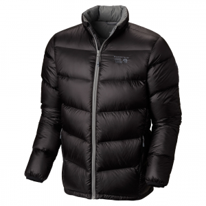 kelvinator down jacket - men's- Save 30% Off - The Mountain Hardwear men's Kelvinator Jacket is a lightweight wonder that offers big jacket warmth at a low overall weight. Q.Shield DOWN resists heat-robbing moisture and retains maximum loft even when wet. Stitch-through quilting is easy to compress and pack. Elastic on the cuffs and at the hood seals in warmth and blocks out wind.