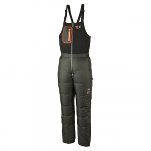 photo: Mountain Hardwear Nilas Bibs down insulated pant