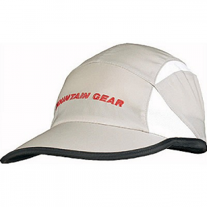 mountain gear cap- Save 25% Off - Made for adventuring, the Outdoor Research cap features lightweight stretch fabric and stretch mesh panels to aid ventilation. Hook and loop adjustments and a crushable foam bill mean you can stuff this cap in your favorite pack and still rely on its protection when the sun gets too bright. Headed out for water excursions? Don't worry about losing your hat to the depths because it'll float.