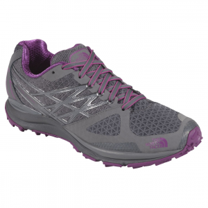 ultra cardiac trail running shoe - women's- Save 27% Off - Transition from road to trails during adventure races in The North Face Ultra Cardiac Trail Running Shoe, a lightweight and flexible, yet protective workhorse. It's crafted with a wide platform for stability, protective Vibram soles with grippy tread for aggressive traction underfoot when charging uphill, and ample midsole cushioning to pad your feet on the way down.