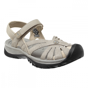 rose sandal - women's- Save 30% Off - Trek through subtle streams or rushing rivers in the adventure-ready KEEN Rose Sandal. This washable sandal provides a multi-direction lug pattern to enhance control and stability for any terrain you encounter. Made specifically for women, this sandal will be sure to provide comfort where your feet need it most.