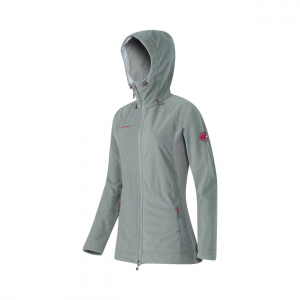 Niva Hooded Mdlayer Jacket Wms