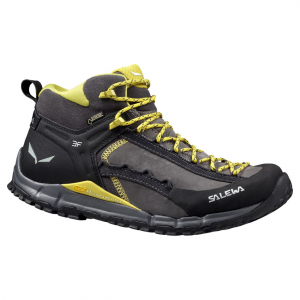hike roller mid gtx hiking boot - men's- Save 20% Off - Salewa Men's Roller Mid GTX Hiking Shoe was made for those who are looking to put up impressive mountain ascents. Built with Salewa Take-Off technology and Vibram's Rollingait System, this hiking shoe is focused on speed, efficiency, and endurance above all else. The Gore-Tex Extended Comfort membrane keeps water out when you splash through puddles..
