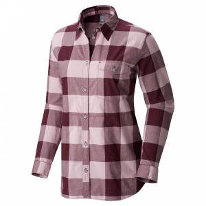 winter bridger ls tunic women's- Save 33% Off - The Mountain Hardwear Winter Bridger LS Tunic is a cozy herringbone flannel with a stylish silhouette and features that are made for a busy day or night. Designed with a longer length for added warmth.