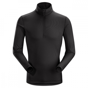 photo: Arc'teryx Men's Phase SL Zip Neck base layer top