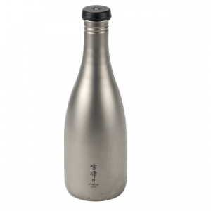 Titanium Sake Bottle