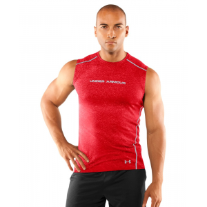 photo: Under Armour HeatGear Touch Fitted Sleeveless Crew short sleeve performance top