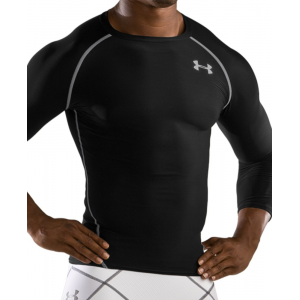 Under Armour HeatGear Compression 3/4 Sleeve T Shirt
