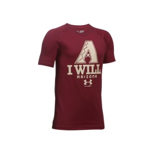 Image of Boys' Arizona Diamondbacks I Will UA Tech(TM) T-Shirt