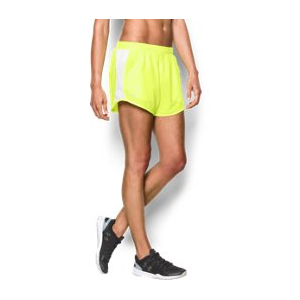 Women's UA Fly-By Perforated Run Shorts