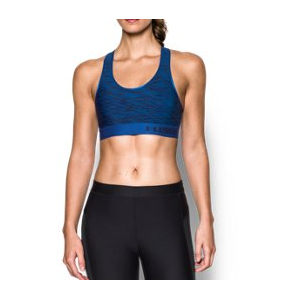 Women's Armour Mid - Printed Sports Bra
