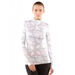 photo: Under Armour Printed ColdGear Fitted 1/4 Zip long sleeve performance top