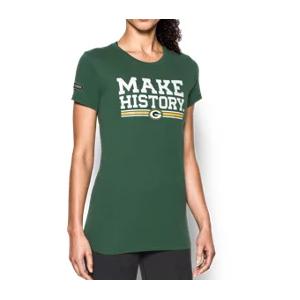 Women's NFL Combine Authentic UA Graphic T-Shirt