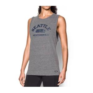 Women's NFL Combine Authentic UA Muscle T-Shirt