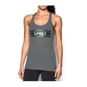 Women's NFL Combine Authentic UA Tri-Blend Racerback Tank