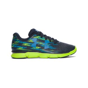 Boys' Pre-School UA ClutchFit RebelSpeed Graphic Running Shoes