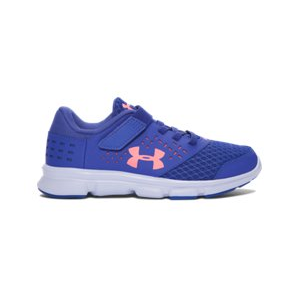 Girls' Pre-School UA Rave Adjustable Closure Running Shoes