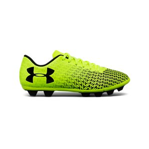 Boys' UA CF Force 3.0 FG Rubber Molded Jr. Soccer Cleats