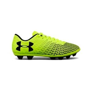 Boys' UA CF Force 3.0 FG Rubber Molded Jr. Soccer Cleats