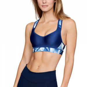 Under Armour Warp Knit High Printed Bra