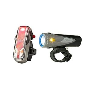 Light & Motion Urban 800 (Anchor Steam) & Vis 180 (Silver Moon) Combo Light Kit
