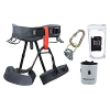 Black Diamond Momentum Climbing Harness Package - Men's (Graphite / Large)