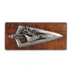 11 Outdoors Elk Broadhead Handcrafted Money Clip - Mesquite