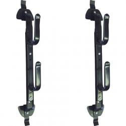 Allen Two Gun , Bow , Or Tool Metal Rack - Black