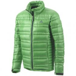 Adidas Outdoor Mens Ht Light Down Jacket - Real Green