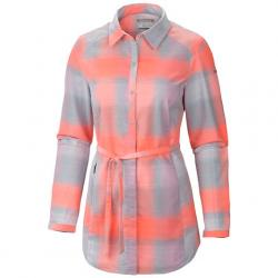 Columbia Women ' S Saturday Trail Flannel Shirt - Mirage
