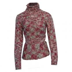 Columbia Women ' S Simply Spun Mock Neck Sweater - Holly Berry