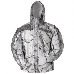 Huntworth Mens Micro - Fiber Waterproof Rain Jacket - Snowcamo
