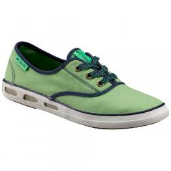 Columbia Women ' S Vulc N Vent Lace Shoe - Chameleon Green