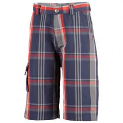Columbia Youth Boy ' S Silver Ridge Novelty Short - Nocturnal Plaid