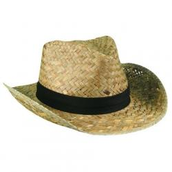 Outdoor Cap Natural Straw Hat - Yellow