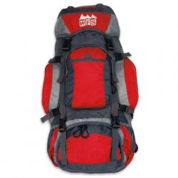 World Famous Zion 40l Internal Frame Backpack - Red