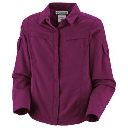Columbia Youth Girl ' S Silver Ridge Long Sleeve Shirt - Tarte