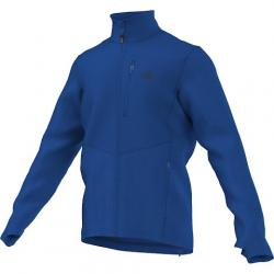 Adidas Outdoor Mens Hiking Reachout Jacket - Blue Beauty