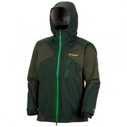 Columbia Mens Tech Attack Shell Jacket - Abyss
