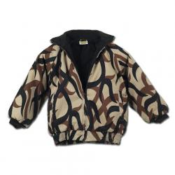 Asat Camouflage Youth Insulated Bomber Jacket - Asat Camo