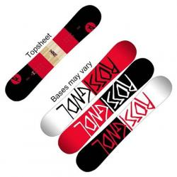 Rossignol District Black / Red Wide Snowboard