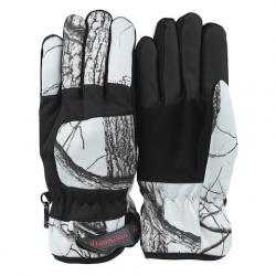 Huntworth Mens Tri - Lam 40g Hunting Gloves - Snow Camo
