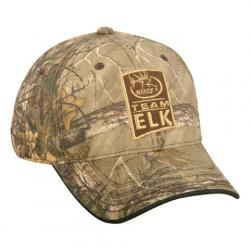 Outdoor Cap Men ' S Rmef Team Elk Cap - Realtree Xtra