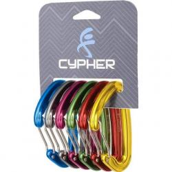 Cypher Ceres Ii Six Colored Carabiners ( 6 Pack )