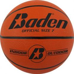 Baden Sports Official Size 7 Rubber Basketball